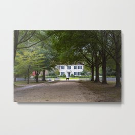Bassett Hall in Autumn Metal Print