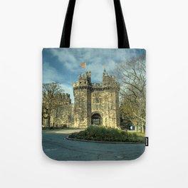 Lancaster Castle Tote Bag