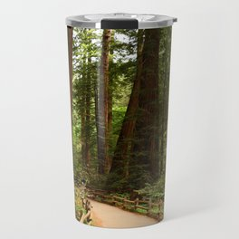 Walking Through The Muir Woods Travel Mug