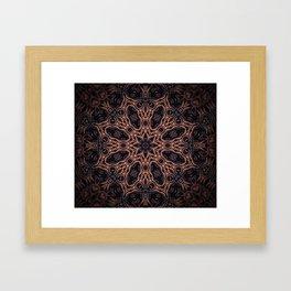 Darksome Night Framed Art Print