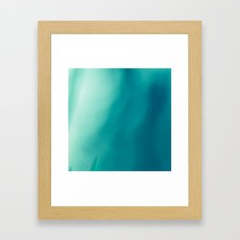 The colors of the deep ocean Framed Art Print