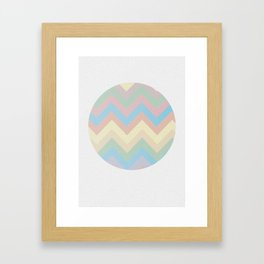 Abstract sun Framed Art Print