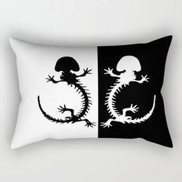 Salamander Skeleton Rectangular Pillow