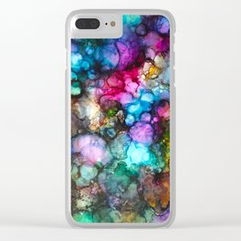 ~night lights~ Clear iPhone Case