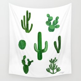 Cactus Collage Wall Tapestry