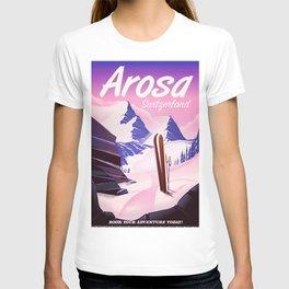 Arosa Switzerland ski T-shirt
