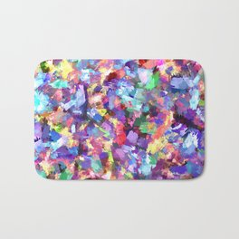 Painting With Color Bath Mat