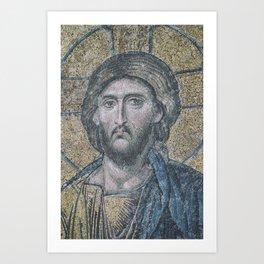 Jesus: Look at me! Art Print