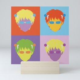 Saiki Kusuo pop art Mini Art Print