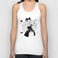 comic Tank Tops featuring Comic Love by Jasmin Darnell