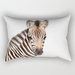 Baby Zebra Rectangular Pillow
