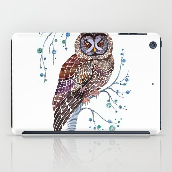 lacy owl iPad Case