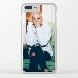Halsey 17 Clear iPhone Case