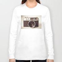 vintage camera Long Sleeve T-shirts featuring Camera by Tuky Waingan