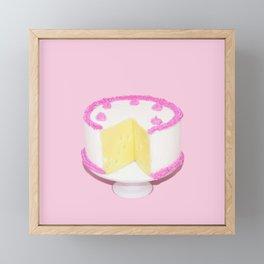 Cheesecake Framed Mini Art Print