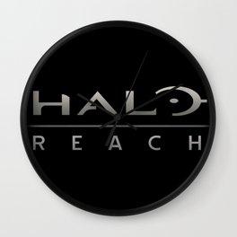 Halo Reach Logo Wall Clock