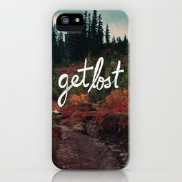 Get Lost in the Pacific Northwest iPhone Case