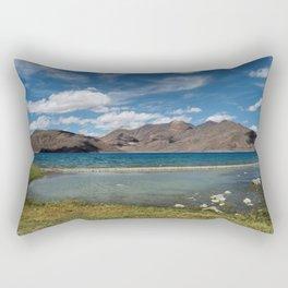 Pangong Tso Lake Rectangular Pillow