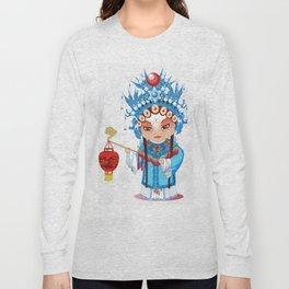 Beijing Opera Character GongNv Long Sleeve T-shirt