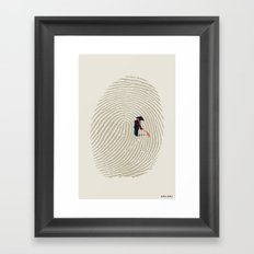 Zen Touch Framed Art Print