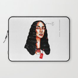 Don't touch my hair Laptop Sleeve