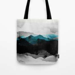 nature montains landscape Tote Bag