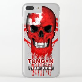 To The Core Collection: Tonga Clear iPhone Case