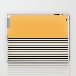 Sunrise / Sunset VI - Yellow & Black Laptop & iPad Skin
