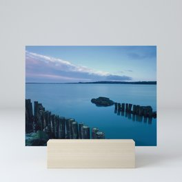 Weir Dawn, Wexford Town, View from Wildfowl Reserve Hun Mini Art Print