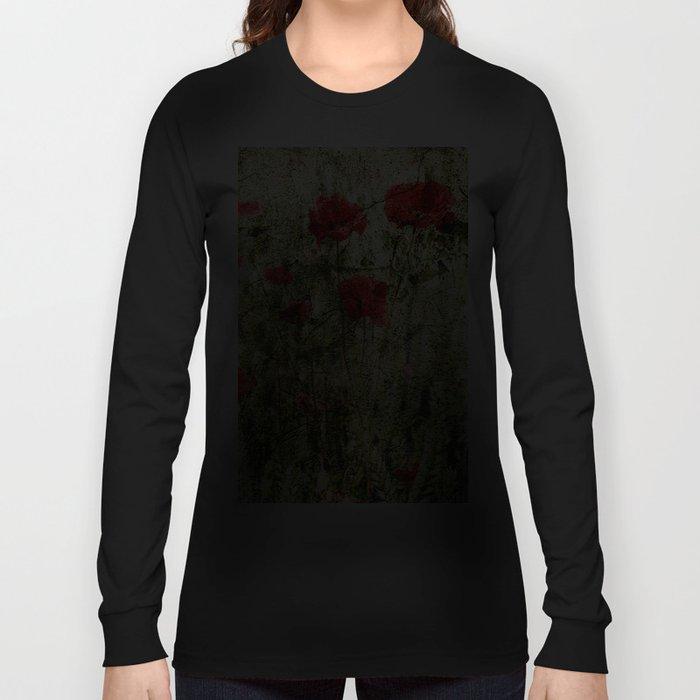 Poppy Art Long Sleeve T-shirt