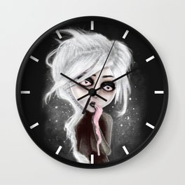 too dark to be sure Wall Clock