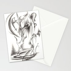 New Moon Melody Stationery Cards