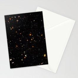 Beautiful Universe Ultraviolet Deepfield Galaxy Universe Star Map Stationery Cards