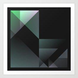 Shards 20160827 | 170943496797 Art Print