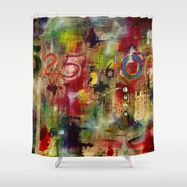 525,600 Minutes Collage Shower Curtain