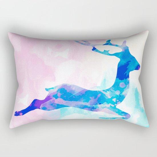 Abstract Deer Rectangular Pillow