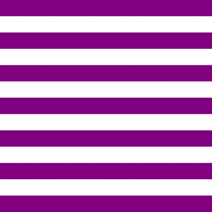 Horizontal Stripes (Purple/White) Comforters