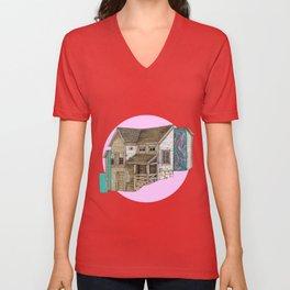 house2 Unisex V-Neck