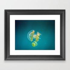 Jellyfish Dance Framed Art Print