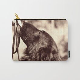 The love of a dog to man Carry-All Pouch