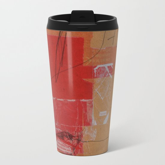CROSS OUT #4 Travel Mug
