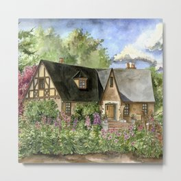 Tudor House Metal Print