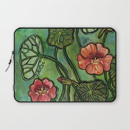 In the Garden ~ Nasturtium Laptop Sleeve