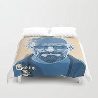 heisenberg Duvet Covers featuring Heisenberg by James Northcote