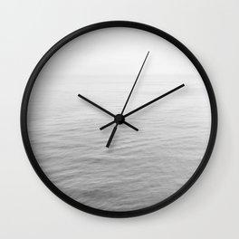 Malibu B&W Wall Clock
