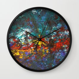 Some Through the Fire Wall Clock