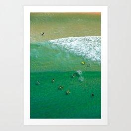 Surfing Day VI Art Print