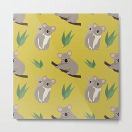 Koalas Metal Print