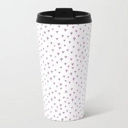 Pink flowers Travel Mug