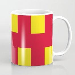 Flag of Northumberland Coffee Mug